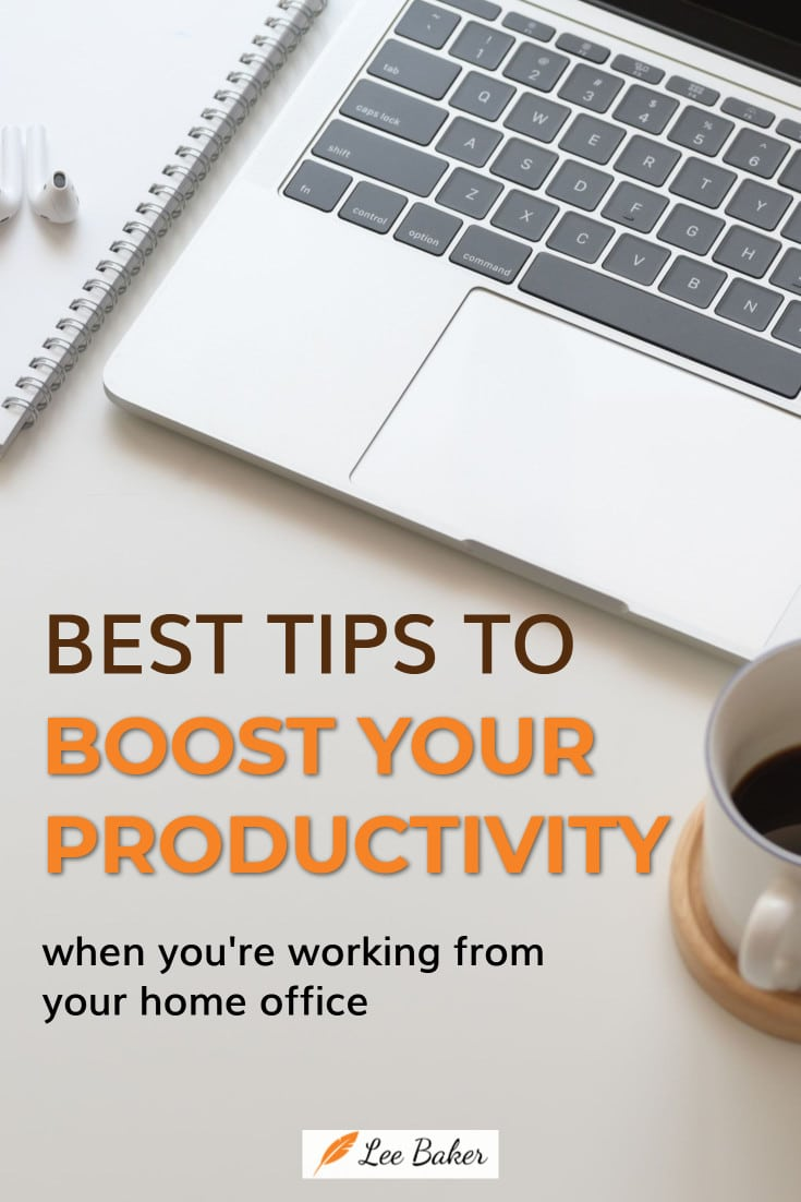 How to be more productive in your work-at-home office